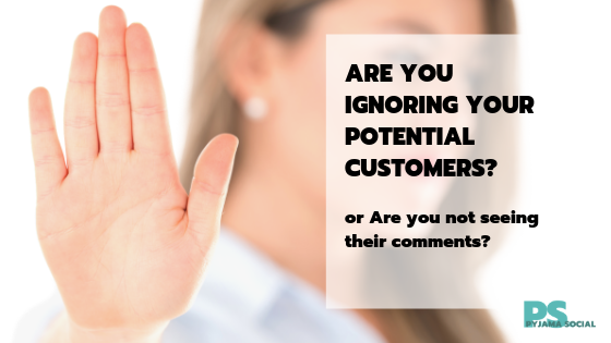 Speak to your customers on Social Media